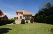 200-0100, Superb, Luxury, Frontline,Three Bedroom Detached Villa With large Gardens, Sun Terraces  & Great Golf Views On La Finca, Algorfa.
