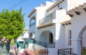 200-0107, Charming, Traditional Spanish Style Two Bedroom Townhouse With Solarium In Agua Nuevas, Torrevieja.