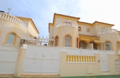 200-0108, Lovely, Three Bedroom Townhouse With South Facing Sun Terrace & Garden in Aguas Nuevas, Torrevieja.