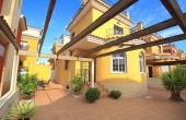 200-0114, GREAT PRICE, Terrific, Three Bedroom Detached Villa With Private Solarium In La Herrada, Los Montesinos