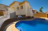 200-0140, Lovely, Modern, Three Bedroom Detached Villa With Private Pool & Solarium In Ciudad Quesada.