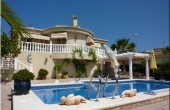 200-0146, Stunning, Four Bedroom, Detached Villa With Private Pool. Garage & Guest Apartment In Benimar, Rojales.