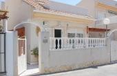 200-0157, Well Presented, Two Bedroom Detached Villa With Solarium In Ciudad Quesada.