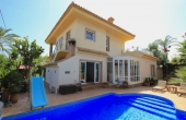 200-0158, Stunning, Six Bedroom Villa With Solarium & Sea Views Beach Side Cabo Roig, Orihuela Costa