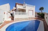 200-0160, Immaculately Presented, Three Bedroom, Corner Plot, Detached Villa With Private Pool & Solarium In Benimar.