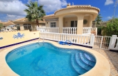 200-0168, Fantastic, Five Bedroom Detached Villa With Guest Apartment & Private Swimming Pool In Benimar, Rojales.