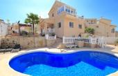 200-0493, Three Bedroom Detached Villa In Benimar