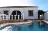 200-0182, Lovely, Three Bedroom, Detached Villa With Private Pool & Solarium In La Siesta, Torrevieja.