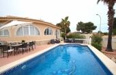 200-0188, Fabulous, Four Bedroom Detached Villa With Private Heated Pool, Garage & Solarium In Ciudad Quesada.