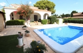 200-0201, Delightful, Three Bedroom, South Facing Detached Villa With Private Pool & Seperate Guest Apartment in Montemar, Algorfa.