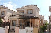 200-0203, Attractive, Two Bedroom Detached Villa With Solarium In El Raso, Guardamar Del Segura.