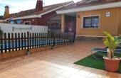 200-0215, Lovely, Three Bedroom Detached Villa With Private Pool & Solarium On El Raso, Guardamar Del Segura.