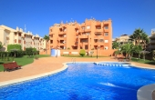 200-0249, Fantastic,Two Bedroom, Penthouse Duplex Apartment With Solarium, Sea Views & Garage In Cabo Roig, Orihuela Costa.