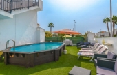 200-0026, Wonderful, Two Bedroom Penthouse Apartment With Solarium, Garden & Private Pool in Jardin Del Mar Torrevieja.