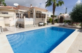 Ref:100-2112-Two Bedroom Detached Villa In Ciudad Quesada-Alicante-Spain-Villa-Resale