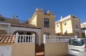 200-0268, Nicely Presented, Spacious Three Bedroom Quad Villa With Solarium & Garden In Lo Marabu, Ciudad Quesada.