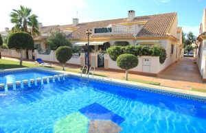 200-0508, Three Bedroom End Townhouse In Cabo Roig