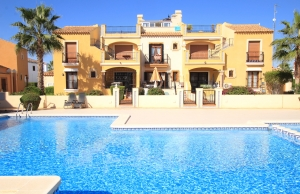 200-0558, Two Bedroom Townhouse On La Finca Golf, Algorfa