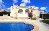 200-0290, Wonderful, Three Bedroom Detached Villa With Private Pool & Huge Soalrium With Great Views In la Fiesta, Ciudad Quesada.