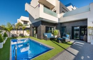 200-0593, Three Bedroom, Modern Style Detached Villa In Benijofar