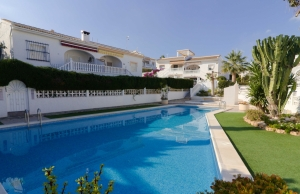Ref:100-2133-Three Bedroom Semi-Detached Villa in Ciudad Quesada-Alicante-Spain-Semi Villa-Resale