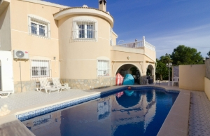 Ref:100-2134-Six Bedroom Detached Villa In Ciudad Quesada-Alicante-Spain-Villa-Resale