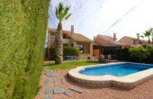 100-2079, Fabulous, Spacious, Luxury Three Bedroom Detached Villa With Private Pool & Wonderful Views On La Finca Golf Course, Algorfa