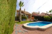 100-2079, Fabulous, Spacious, Luxury Three Bedroom Detached Villa With Private Pool & Wonderful Views On La Finca Golf Course, Algorfa