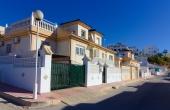 100-2080, Beautifully Presented, Two Bedroom Quad Villa With Wonderful Rooftop Solarium & Inner courtyard In Ciudad Quesada.
