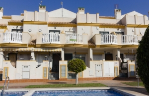 Ref:100-2136-Two Bedroom Townhouse in cabo Roig-Alicante-Spain-Townhouse-Resale