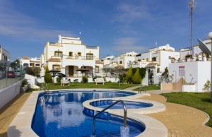 Ref:100-2139-Three Bedroom Quad Villa In Entre Naranjos.-Alicante-Spain-Quad-Resale