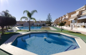 Ref:100-2141-Three Bedroom Townhouse In Dona Pepa, Ciudad Quesada.-Alicante-Spain-Townhouse-Resale