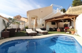 200-0309, Wonderful, Two Bedroom Detached Villa With Private Pool & Solarium In La Marquesa, Ciudad Quesada.