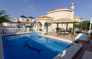 Ref:100-2147-Two Bedroom Detached Villa In Benimar.-Alicante-Spain-Villa-Resale