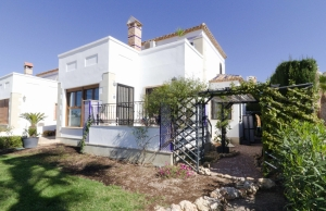 Ref:100-2148-Three Bedroom Link Detached Villa On La Finca Golf, Algorfa.-Alicante-Spain-Villa-Resale