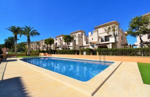 200-0807, Three Bedroom Semi-Detached Villa On La Finca Golf