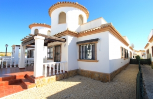 200-0738, Three Bedroom Link Detached Villa In El Raso, Guardamar Del Segura.