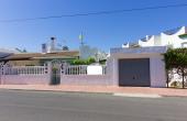 100-2087, Charming, Three Bedroom, South Facing Semi-Detached Corner Plot Bungalow With Garage & 42m2 Solarium In Ciudad Quesada.