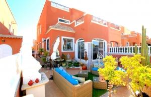 200-0820, Three Bedroom Quad Villa In La Herrada, Los Montesinos.