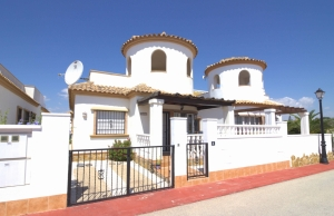 Ref:100-2156-Three Bedroom Detached Villa On El Raso.-Alicante-Spain-Villa-Resale