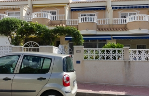 Ref:100-2166-Two Bedroom Fortuna Style Townhouse In Dona Pepa, Ciudad Quesada.-Alicante-Spain-Townhouse-Resale