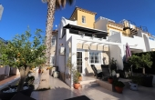 200-0346, Delightful, Beautifully Presented Three Bedroom Townhouse With Solaium & Great Views In Montemar, Algorfa.