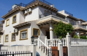 200-0037, Lovely, Spacious Two Bedroom Quad Villa With Solarium & Sea Views In Playa Flamenca, Orihuela Costa.