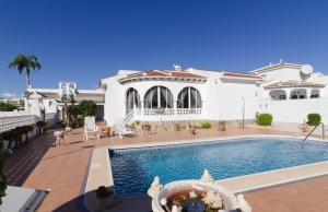 Ref:100-2170-Two Bedroom Detached Villa In Pueblo Bravo, Ciudad Quesada.-Alicante-Spain-Villa-Resale