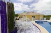 200-0360, Delightful, Three Bedroom, Corner Plot Detached Villa With Private Pool, Garage & Solarium With Lovely Views In Monte Azul, Benijofar