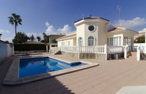 Ref:100-2175-Three Bedroom Detached Villa In Dona Pepa, Ciudad Quesada.-Alicante-Spain-Villa-Resale