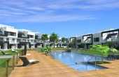 200-0042, Outstanding Two Bedroom Luxury Apartments With Either A Garden Or Solarium, Some With Lake Views In El Raso, Guardamar Del Segura.