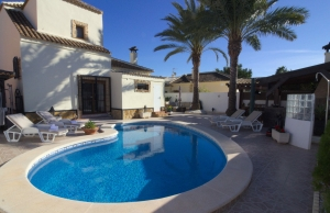 Ref:100-2181-Three Bedroom Detached Villa In Fincas De La Vega, Formentera Del Segura.-Alicante-Spain-Villa-Resale