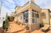 200-0395, Terrific, Spacious, South Facing Three Bedroom Detached Villa With Rooftop Solarium In Montebello, Algorfa.