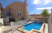 Ref:100-2098-Fabulous, Two Bedroom Detached Villa With Private Pool & Wonderful Sun Terrace/Solarium With Great Views In La Marquesa, Ciudad Quesada.-Alicante-Spain-Villa-Resale